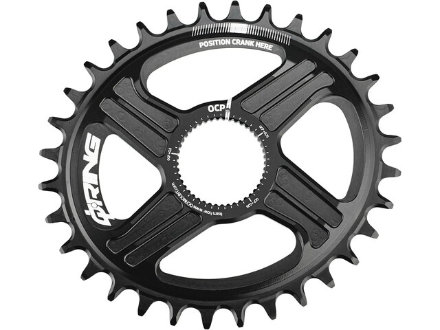 Rotor Q-Ring Direct Mount MTB Klinge R-Hawk/R-Raptor, black